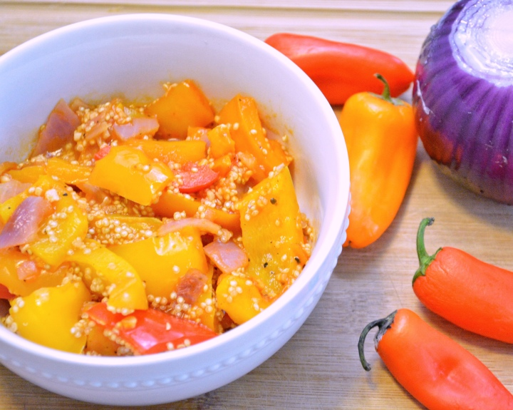 Bell Pepper Quinoa Salad