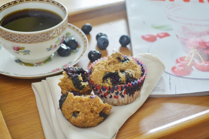 Guilt-Free Blueberry Lemon Muffins for Our Saturday Morning Breakfast