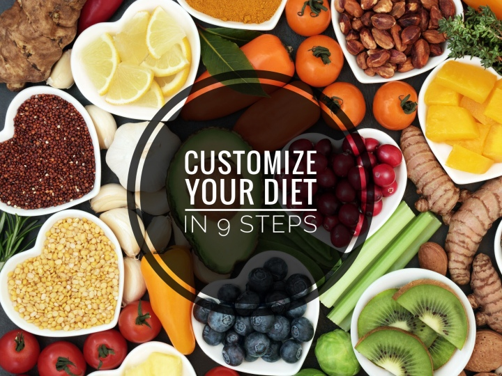 How to Customize a Diet that Works for You in 9Steps