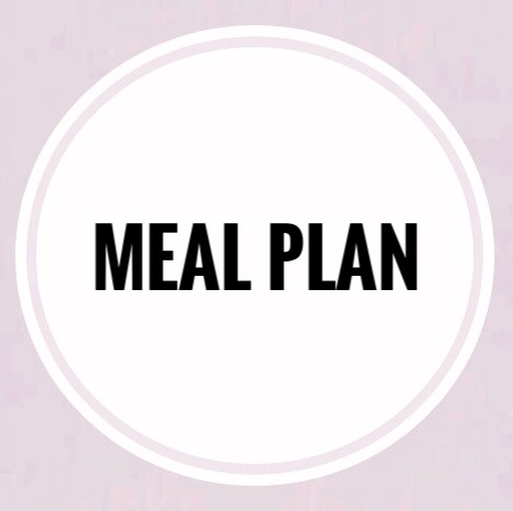 Menu Planning for the Week at MyHouse