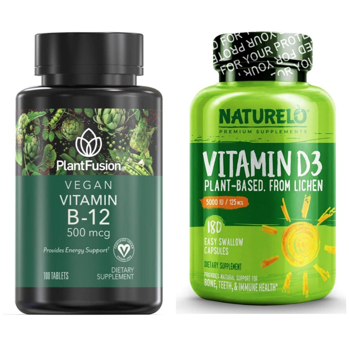 Supplements on a Plant-Based Diet